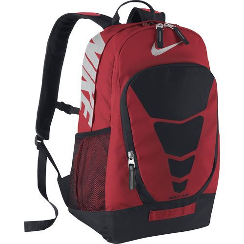 """Great for your sporty lifestyle, the Nike™ Vapor Max Air Backpack is designed with a dual-zippered main compartment with a laptop sleeve that fits up to a 15"""" system. The backpack is made of water-resistant polyester with a PU coat and a Tarpaulin bottom for durability and features Nike™ Max Air shoulder straps and a top carry handle for easy carrying."""