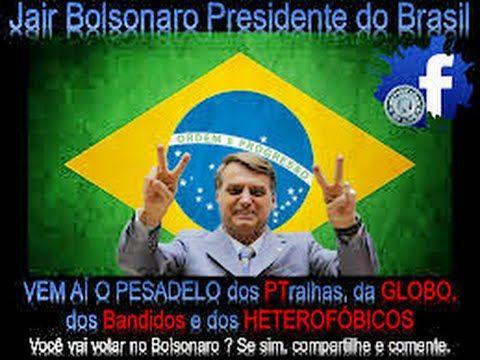 BOLSONARO Reconhecido na CHINA e em ISRAEL como FUTURO PRESIDENTE do BRASIL 2018/ Bolsonaro Batizado - YouTube