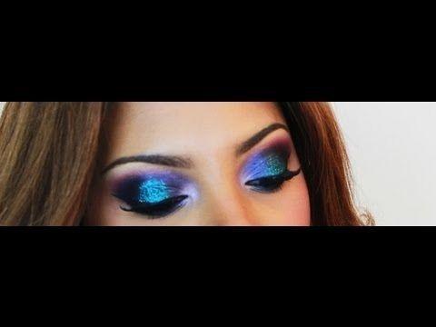 Galaxy Inspired Eye Makeup Tutorial