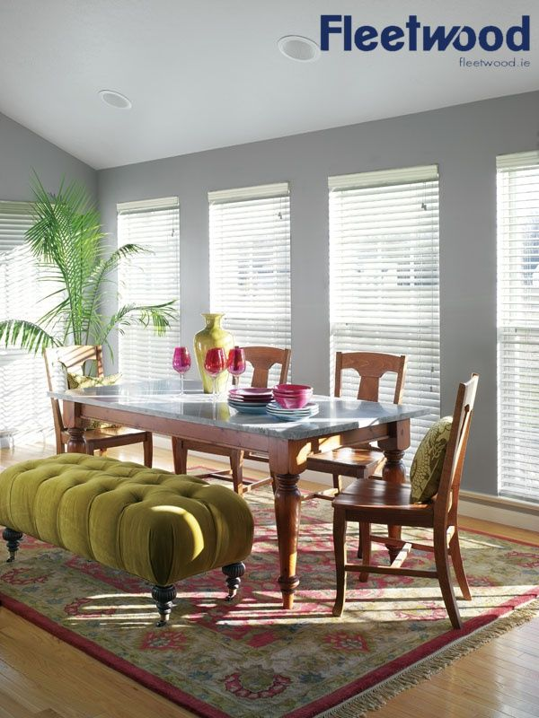 Dining room painted in fleetwood 39 s november skies for Dining room colour inspiration