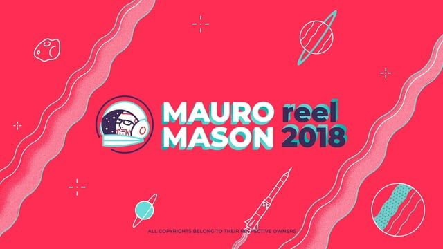 This my first showreel, a collection of my projects until the first days of january 2018.  Visit my home: https://www.mauromason.com   and my behance portfolio: https://behance.com/mauromason