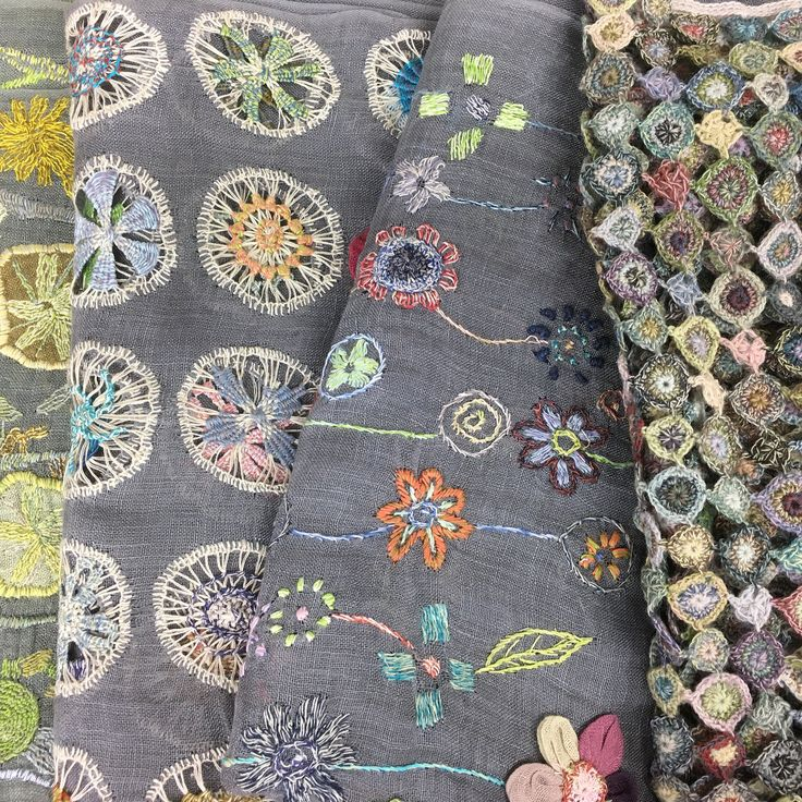 Sophie Digard Scarf Collection ~ crewelgobelin