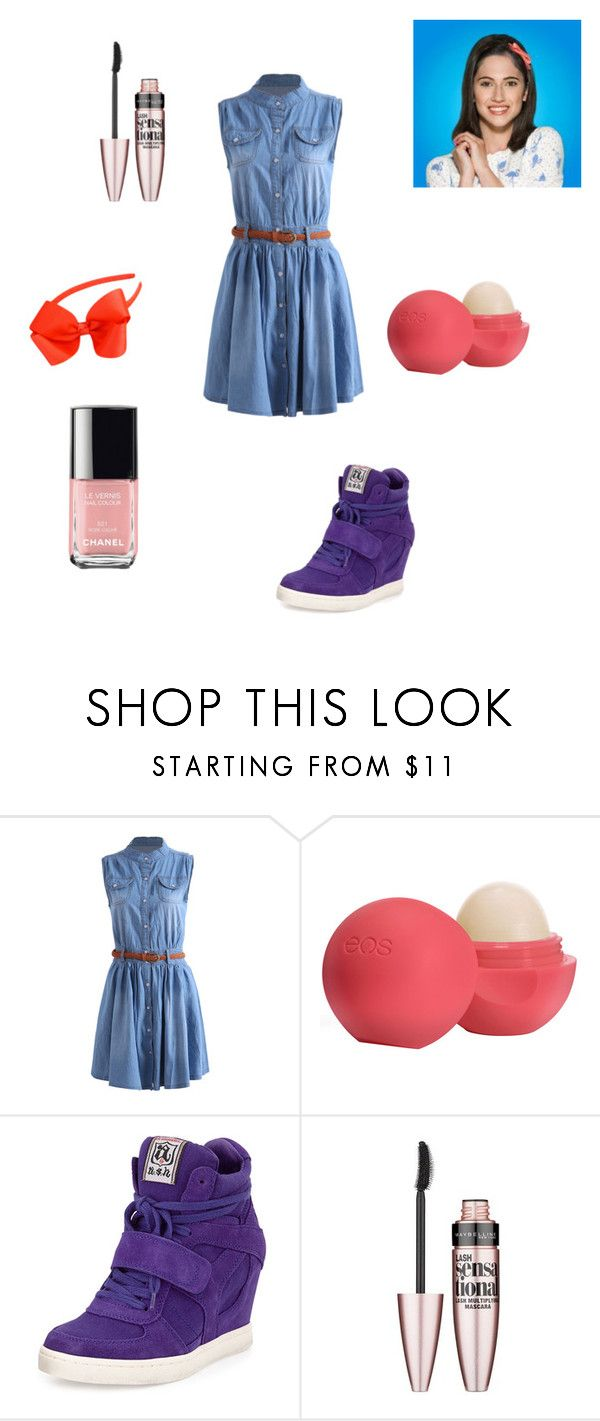 """""""Francesca's Style"""" by anna2001-2 ❤ liked on Polyvore featuring Eos, Ash, Maybelline, Chanel, women's clothing, women, female, woman, misses and juniors"""