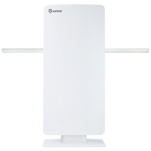 Antop Antenna Inc AT-400BV Flat Panel Smartpass Amplified Indoor/Outdoor HDTV Antenna - PET-ANTAT400BV