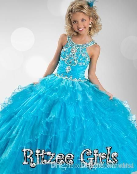 1000  ideas about Girls Pageant Dresses on Pinterest - Dresses for ...