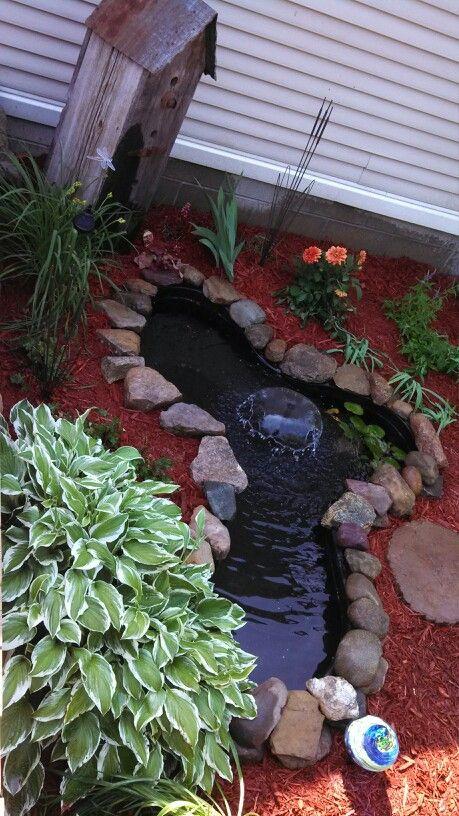 437 best small garden ponds images on pinterest | garden ideas