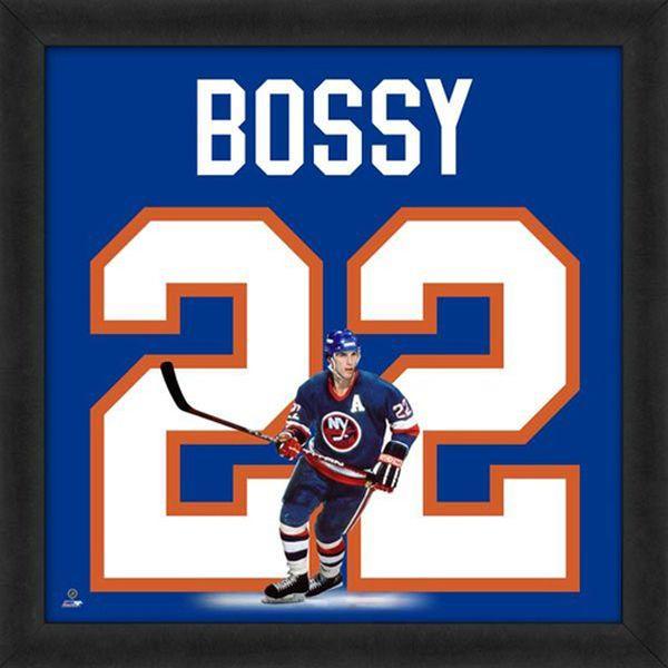 "Mike Bossy New York Islanders Players 20"" x 20"" Uniframe - $74.99"