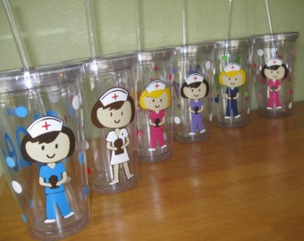 cute nurse accessories - Etsy. Some if these are really cute!!  Some great ideas for nurses day gifts!!  (Hint, hint)