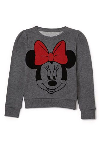 Minnie Mouse 174 Sweatshirt Kids Forever21 Girls