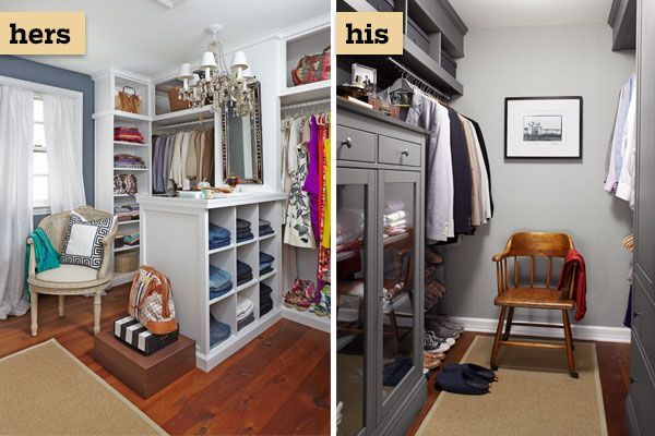 196 best images about closets on pinterest walk in for His and hers closet