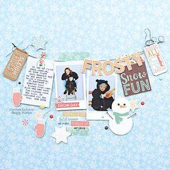 Simple Stories Winter Wonderland Collection is perfect for capturing your frosty memories. Get yours today at Scrapbook.com.