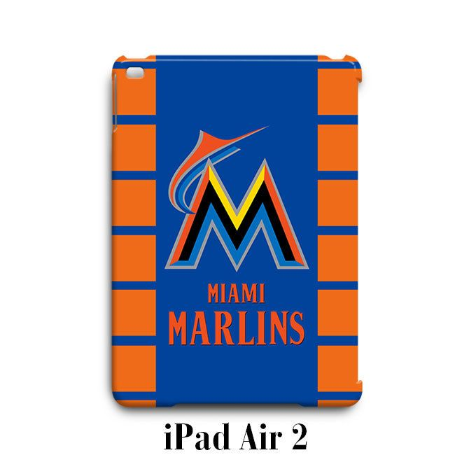 Miami Marlins iPad Air 2 Case Cover Wrap Around