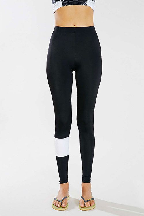 $4.28// Women's Asymmetrical white band Workout Legging// Delivery: 6-9 weeks