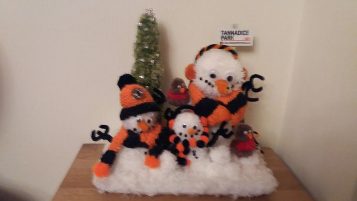 Dundee United snowman fans