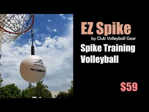 Volleyball Spike Trainer-Practice ball contact, arm swing, and footwork training techniques. It is ideal for use in repetitive hitting drills and conditioning exercises.