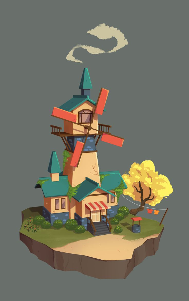 Dream House II on Behance