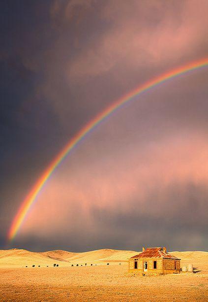 Storm & Rainbow, Burra, South Australia