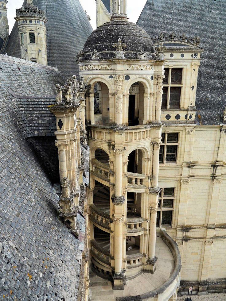 Chambord Castle, Centre, France.I want to go see this place one day.Please check out my website thanks. www.photopix.co.nz