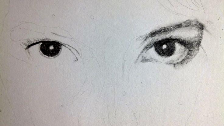 My eyes pencil by Martha Nia Williams