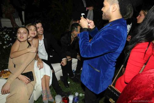 January 1: Gigi, Bella, Cully and Abel in Miami for NYE