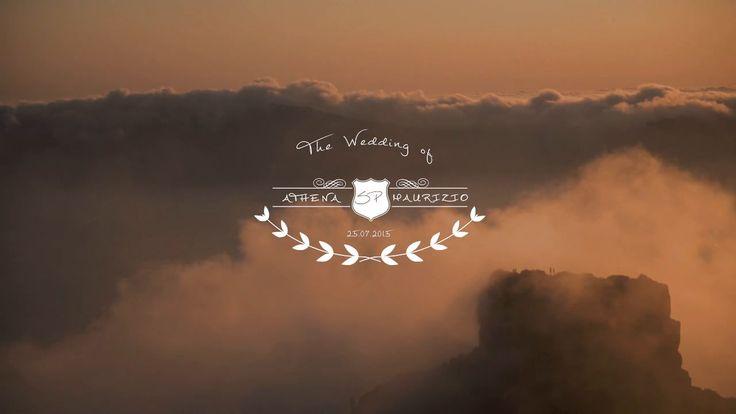 Wedding Trailer | Athena & Maurizio | Wedding in Santorini by Phosart http://www.love4weddings.gr/incredibly-romantic-wedding-video/