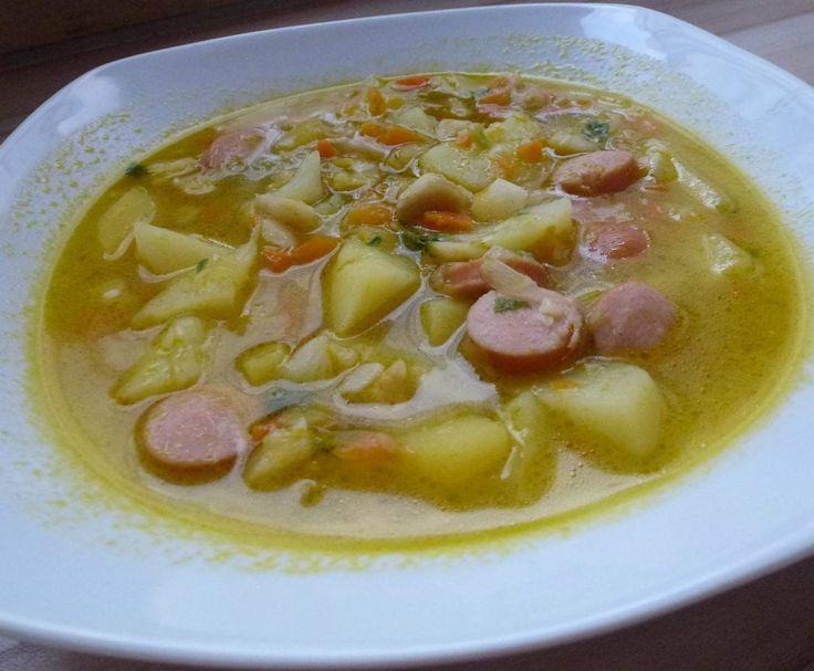 gesunde Kartoffel Gemüsesuppe, Kartoffelsuppe Rezept des Tages 09.11.16 by Mia.Stella on www.rezeptwelt.de