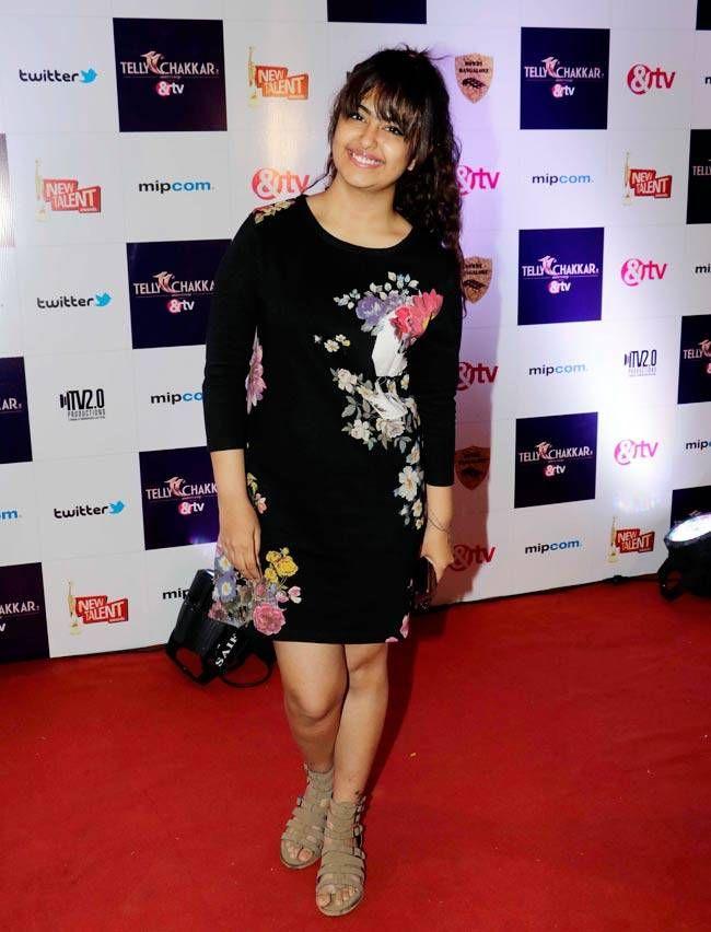 Avika Gor at Tellychakkar's 11th anniversary bash. #Bollywood #Fashion #Style #Beauty #Hot
