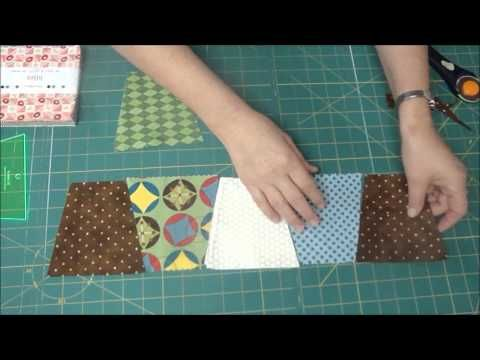 The Easiest Tumbler Quilt You'll Ever Make! [from Missouri Quilt Co.] ~ Love these! :D