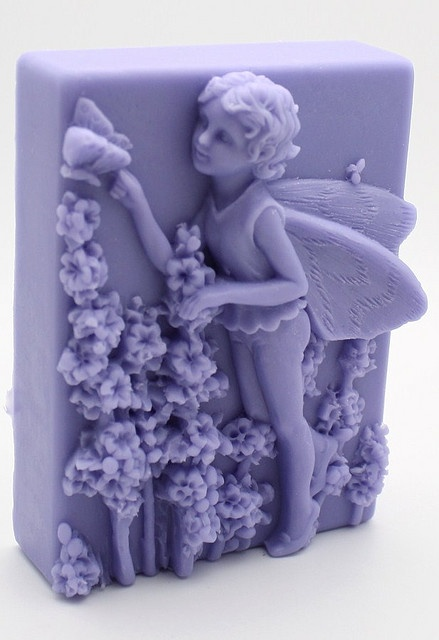 **Canterbury Bell Garden Faerie Soap. These shapes can be made with play doe
