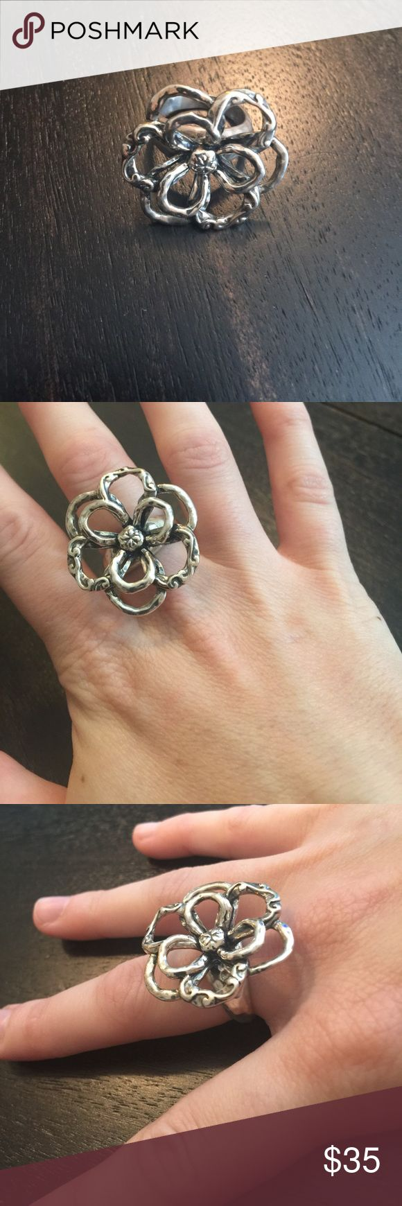 Silpada Designs ring Silpada Designs flower ring Silpada Jewelry Rings