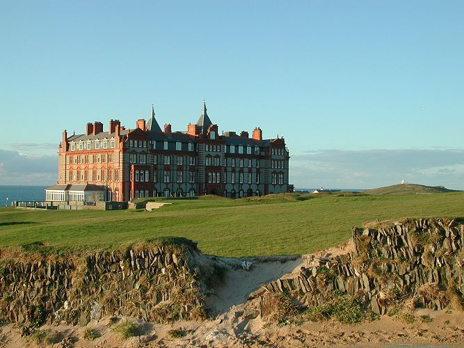The Headland Hotel, Newquay by Charles Winpenny