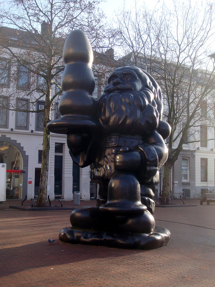 Kabouter Buttplug, noemen wij hem....  Santa Claus - Rotterdam, the Netherlands