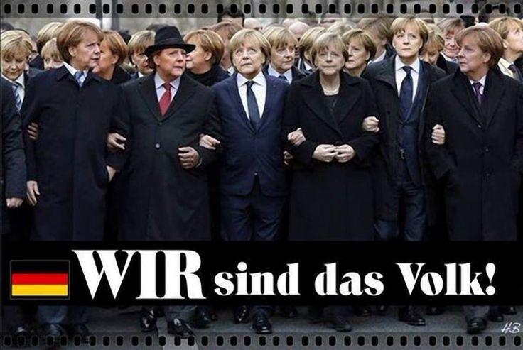 """❌❌❌ Genau genommen ist es nur ein großer Theaterdonner, der uns für die Bundestagswahl 2017 aufgeführt wird. Bereits heute steht fest, egal was und wie gewählt wird, dass Angela Merkel auch ab 2017 wieder Kanzlerin der Bundesrepublik Deutschland wird. Wie das ganze vonstatten geht und warum es so ist, dazu lassen wir diesbezüglich die """"virtuelle Kanzlerin"""" zu Worte kommen, die noch um einiges schamloser ist als das im Kanzleramt hausende Original. ❌❌❌ #Merkel #Kanzler #Wahl2017 #Bundestag"""