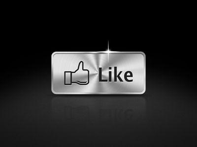 Metal-fb-like Web Design