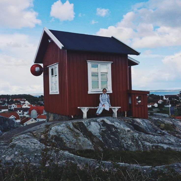 Exploring Gothenburg's archipelago in summer, Sweden