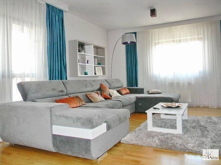 Inchiriere regim hotelier apartament 3 camere, Brasov, zona AstraApartamentul este mobilat si utilat lux, 2 grupuri sanitare, garaj subteran, parcare privata