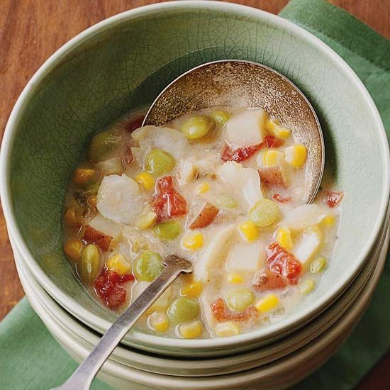 Hearty fish chowder recipe soups fish and warm for Recipe for fish chowder