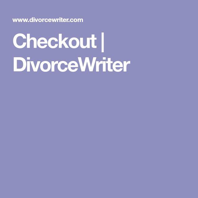 Checkout | DivorceWriter
