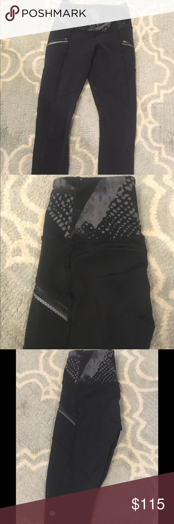 1 day SALE**Lululemon toasty tech tight size 2 Lululemon toasty tech tight size 2.  VGUC no flaws!  They don't make these anymore so they are hard to find.  Fleece lined!!! Warm & cozy 💕💕💕Have been hemmed to fit a 5'4 lady at full length** lululemon athletica Pants Leggings