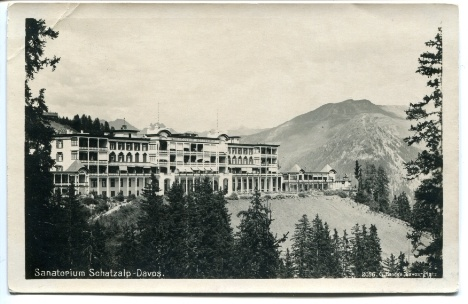 Sanatorium Schatzalp, Davos. I stayed here when I was there