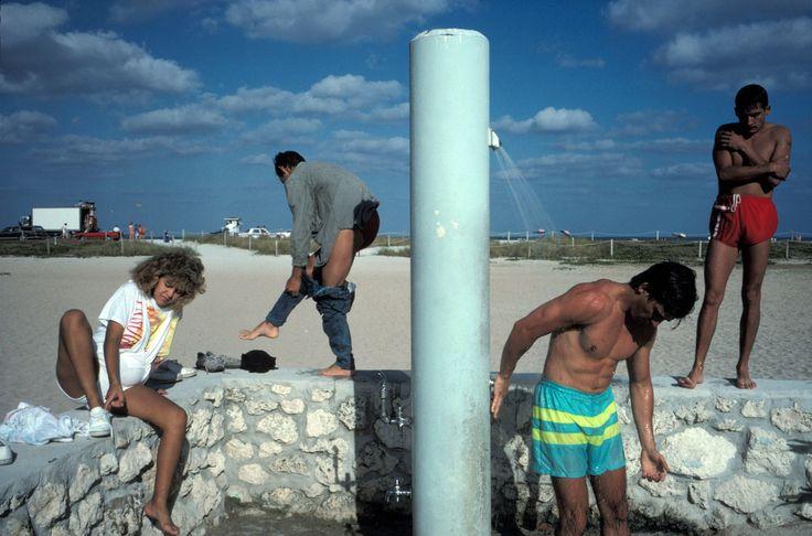 Alex Webb USA. Miami Beach, FL. 1989.