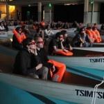Sessões de '#AsAventurasdePi' colocam o público dentro de botes salva-vidas - podemos dizer que isso foi um CI-3 (Contato Imediato de Terceiro Grau). experiência #ducaralho