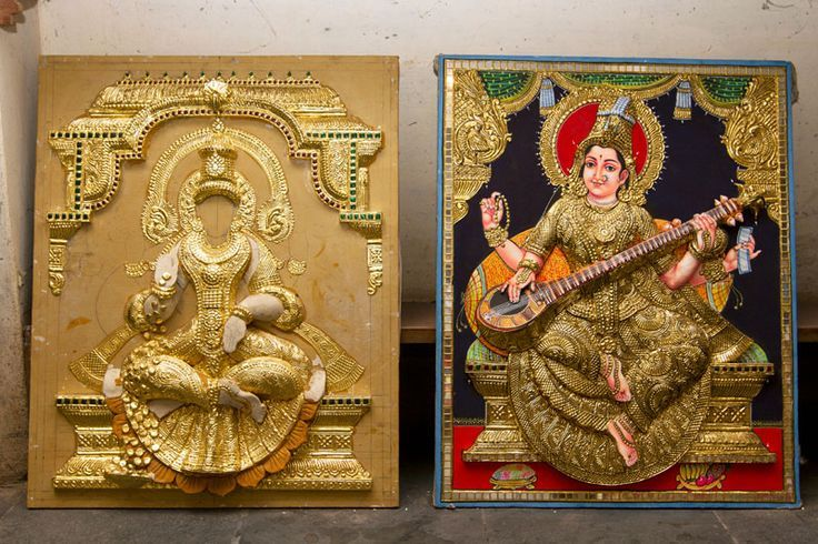 tanjore paintings indinesian rama online shopping india - Google Search