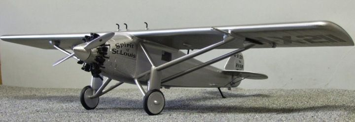 Spirit of St.Louis. Marsh Models/Aerotech, 1/32, resin, initial release, No.32019. Price: Not Sold.