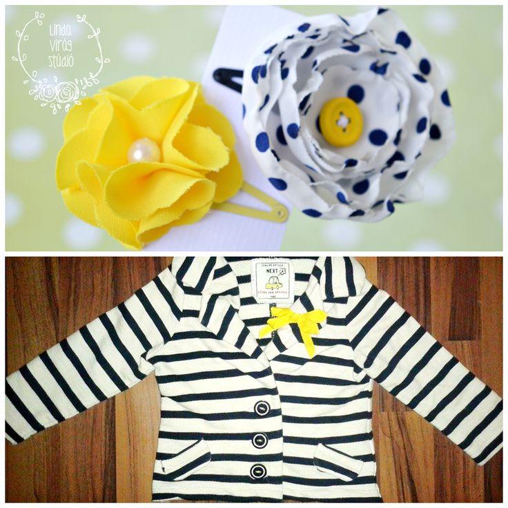 #next #yellow #polkadots #navyblue #hairpins