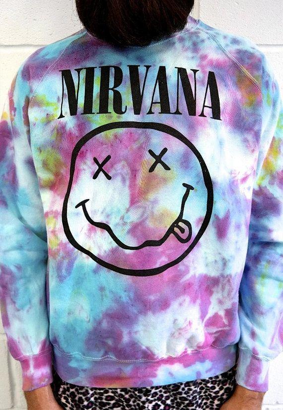 Nirvana Tie Dye Sweatshirt