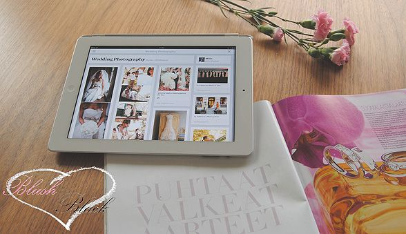 Pinspiration for wedding planning | Blush loves Black blog on haat.fi