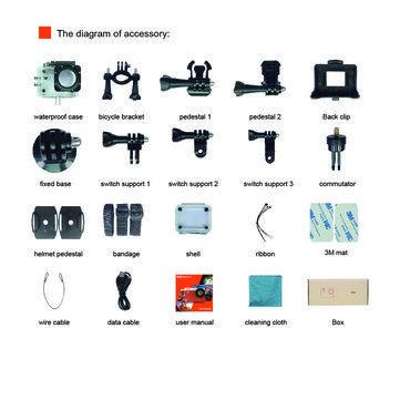 Elephone ELECAM Explorer S 4K Action Camera Allwinner V3 Chipset Sport DV IMX 179 Sensor Sale - Banggood.com