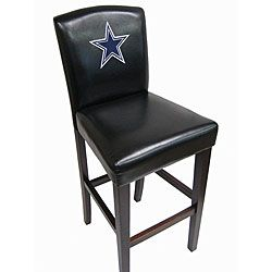 I Want These For Our Basement :) NFL Dallas Cowboys Bar Stools (Set Of