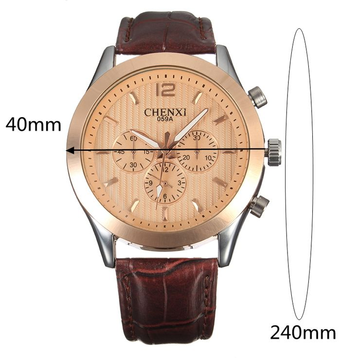 CHENXI Casual Watch Leather Watch for Men online - NewChic